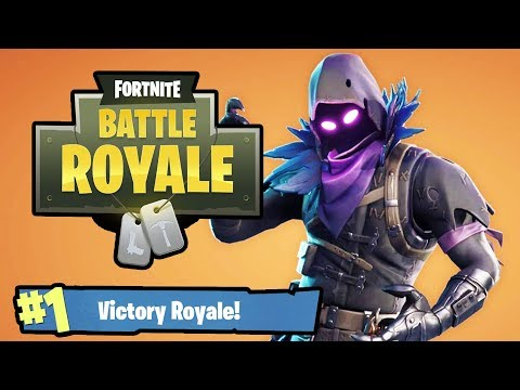 Fortnite Battle Royale Raven Skin Rampage!