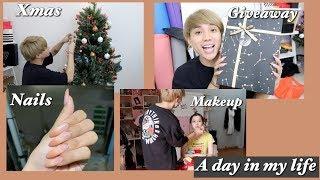 #VLOG Mua quà tặng Subscribers, Trang trí Giáng Sinh, Công việc makeup   A Day In My Life   Ty Lê  