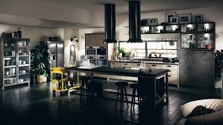 Successful Living from DIESEL with SCAVOLINI   SOCIAL KITCHEN