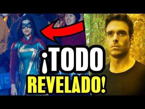 Trailer explicado fase 4, The Marvels, 4 Fantásticos confirmados, Eternos, Wakanda for ever