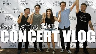 Panic! at the Disco and Weezer Concert Vlog | Meeting Brendon Urie | July 16 2016