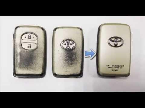 Замена корпуса смарт-ключа Тойота Камри / Авенсис