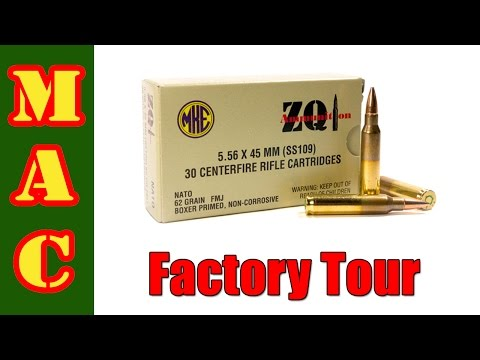 Tour of the ZQI / MKE Ammo Factory in Turkey