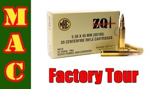 tour of the zqi mke ammo factory in turkey