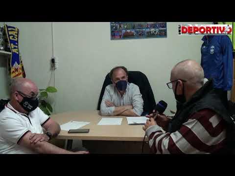 Vídeo entrevista y Declaración Institucional del Presidente y Tesorero del CF Benidorm