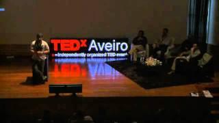 Esta TV não é para Ideias: Luis Filipe Borges at TEDxAveiro 2010