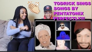 couple reacts pentatodrix by todrick hall reaction