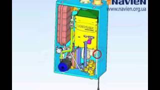 Демонтаж, замена и ремонт фильтра отопления на котле NAVIEN ACE Turbo(Видеоинструкция по демонтажу, замене и ремонту котлов NAVIEN ACE Turbo http://www.navien.org.ua http://shop.navien.org.ua., 2013-09-06T09:31:54.000Z)