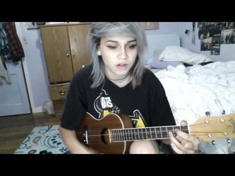 TROUBLE BY HALSEY - UKULELE COVER | Kylie The Jellyfish