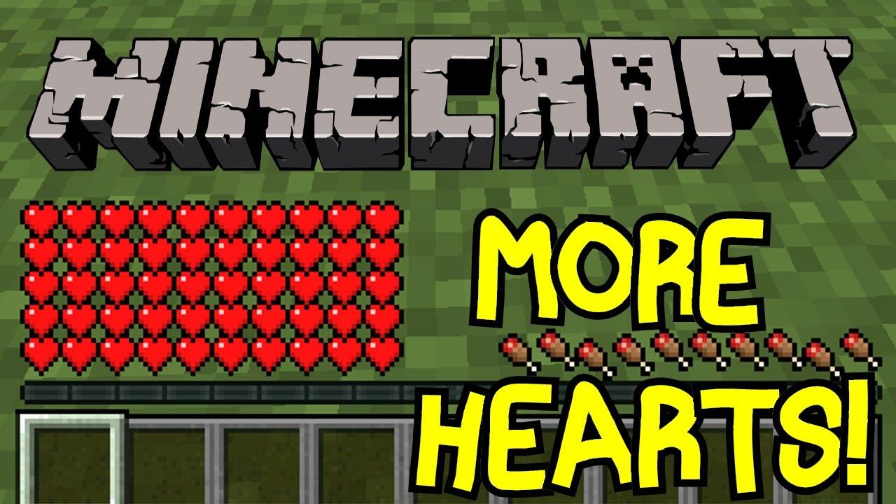 Minecraft  How To Get Maximum Health In Minecraft Vanilla!  Tutorial  No  Mods!