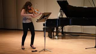 Partita for Solo Violin, Mvt. 3: Courante by Andre Meyers