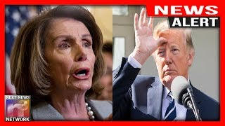 ALERT! Pelosi FALLS OFF HER ROCKER Seconds After Learning Trump's EPIC Immigration Plan
