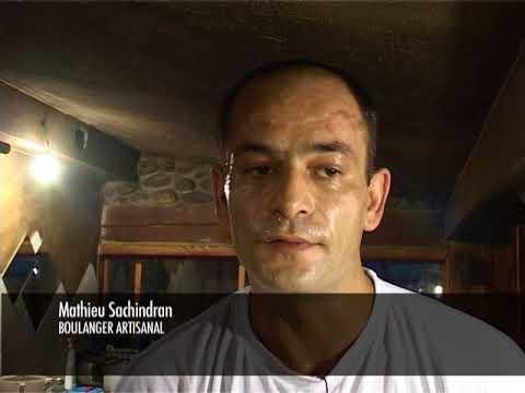 Portrait de Mathieu Sachindran, boulanger bio artisanal