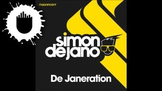 Simon De Jano - De Janeration (Cover Art)