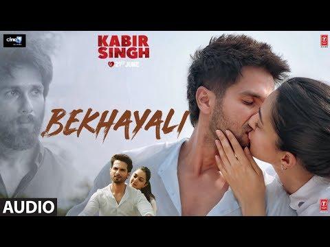 Kabir Singh: Bekhayali Full Audio  Shahid Kapoor, Kiara Advani  Sandeep Reddy Vanga