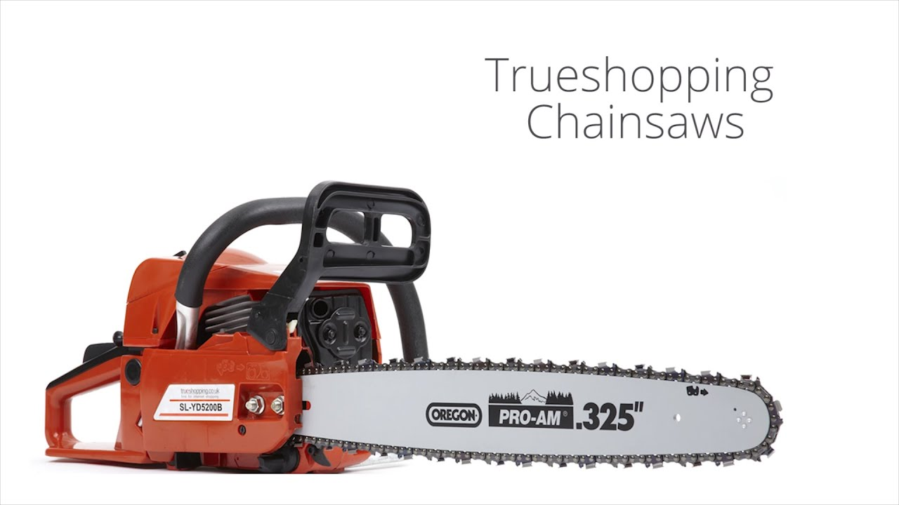 """Assisted Start XXX TOOLS Pro 62cc Petrol Chainsaw 20/"""" OREGON Blade and Chain"""