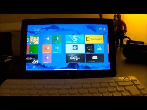 Surface RT as Laptop/PC replacement. DVD Play