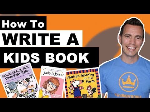 How to Write a Children's Book: 8 EASY STEPS!