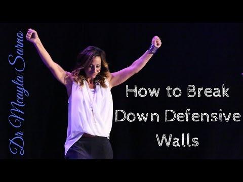 How to Break Down Defensive Walls