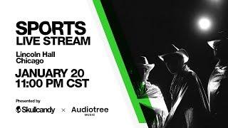 LIVESTREAM ALERT: Sports LIVE Sunday 1/20 @ 11:15 pm CST! Set Your Reminder Here