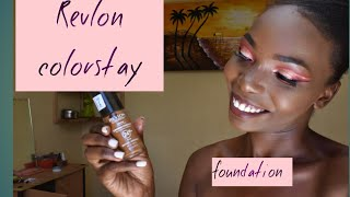 REVLON COLORSTAY FOUNDATION REVIEW// IS IT WORTH YOUR MONEY?