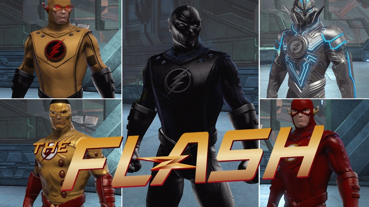 Dcuo Closet The Cw The Flash Zoom The Reverse Flash Savitar And