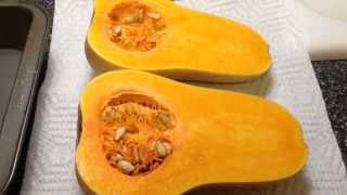 How To Bake Butternut Squash! Super Easy!