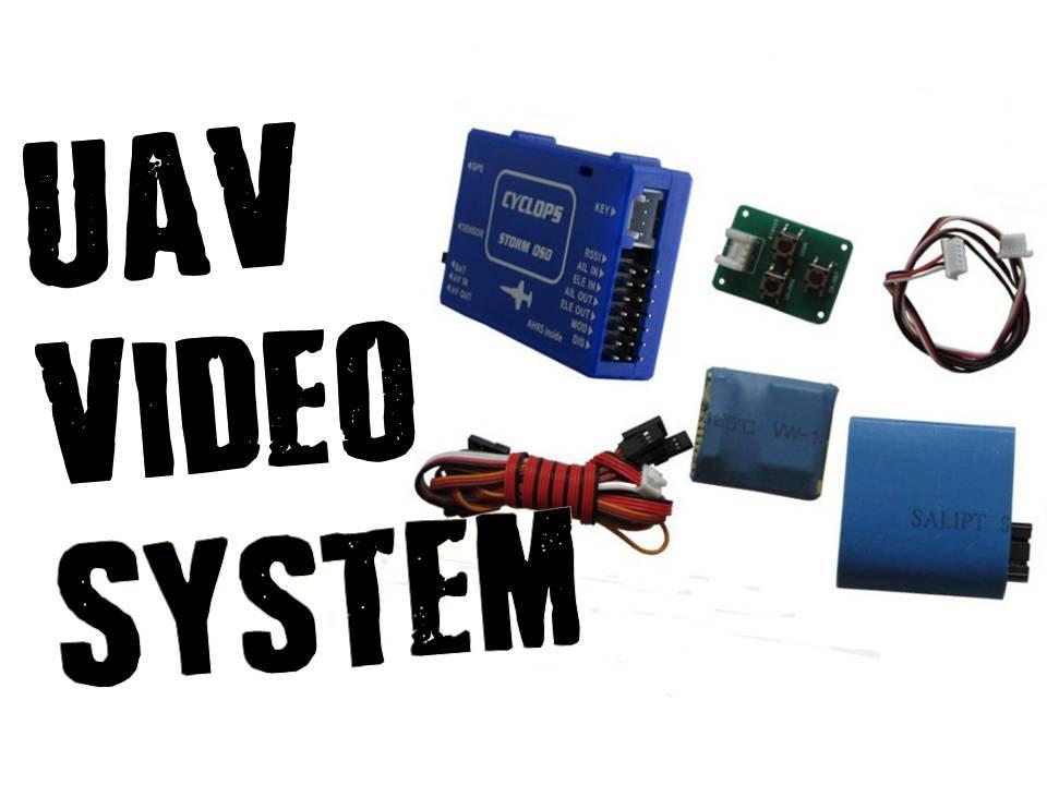 UAV/Drone FPV Video System & Autopilot for RC Planes