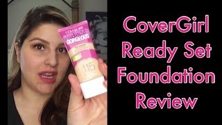 New CoverGirl Ready Set Gorgeous Foundation Thumbnail