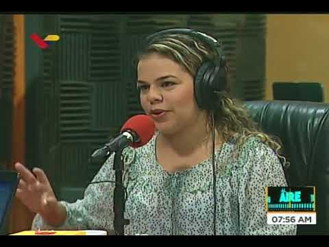 Viceministra de Cultura Rodbexa Poleo en el programa Al Aire de VTV, 30 agosto 2018