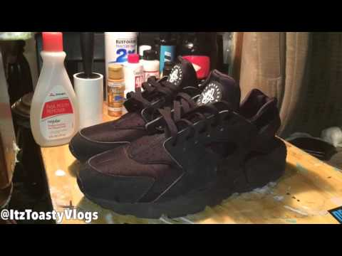 "How to Clean All ""Black Huaraches"""