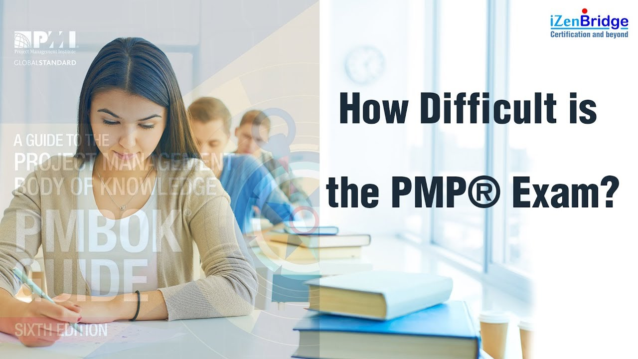 How Difficult Is The Pmp Exam Youtube