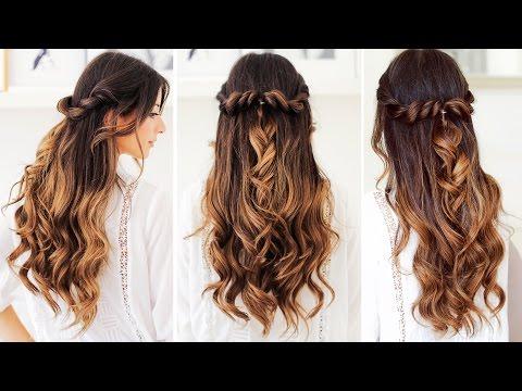 Twist-Back Hairstyle | Luxy Hair