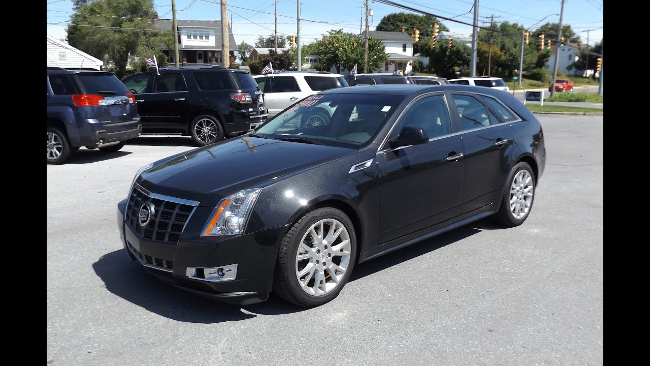 2013 Cadillac Cts 4 Wagon 3 6l V6 Start Up  Tour  And