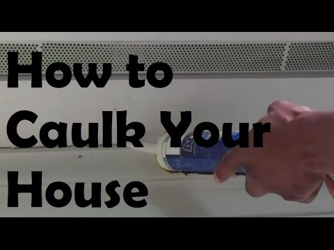 Exterior Caulking How to CaulkHow to Fill Gaps with a Caulk Gun