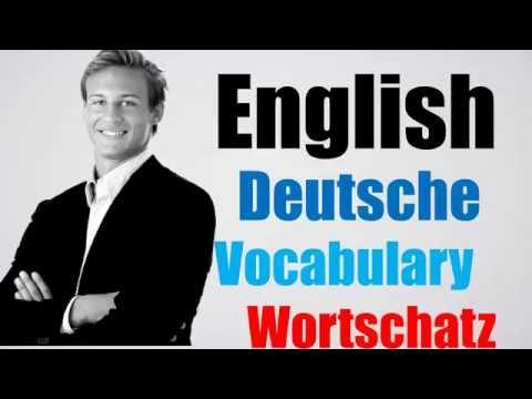 Video#108 Deutsch-Englisch Wortschatz Übersetzung German English Niederländisch Übersetzer Lernen