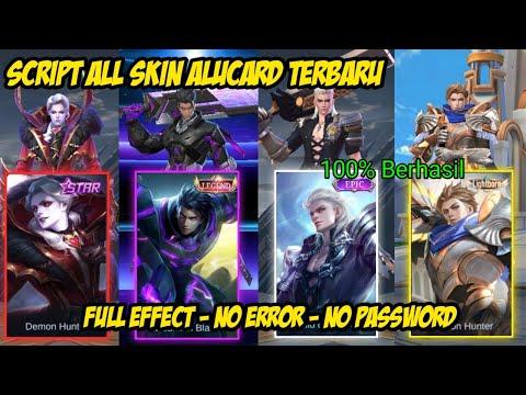 Script All Skin Alucard Mobile Legend Full Effect And Sound Terbaru 2021
