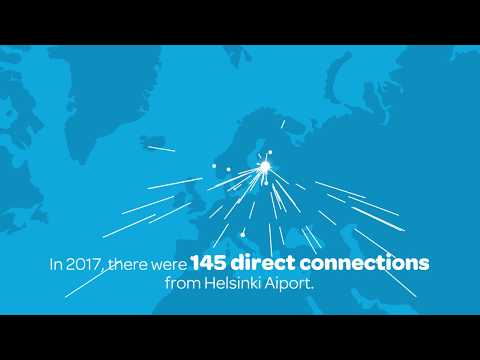 The development of flight connections and traffic in Helsinki Airport from 1952–2017 | Finavia