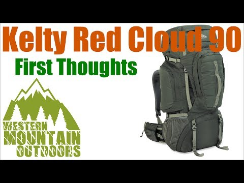 Kelty Red Cloud 90 (5600ci) - First Thoughts