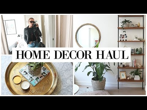DECORATING MY APARTMENT + Home Haul | allanaramaa