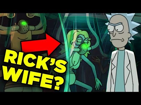 Rick And Morty RICK'S WIFE Revealed In 4x02? | Ricksplained