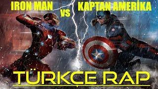 iron man vs Kaptan Amerika Rap Düellosu - Rapçi Süper Kahramanlar