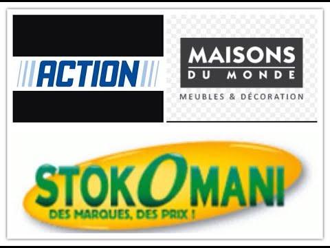 ▲ Haul : Stokomani, Action et Maisons Du Monde