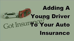 2017 Driver Insurance Policy  | Adding A Young Driver To Your Auto Insurance Policy