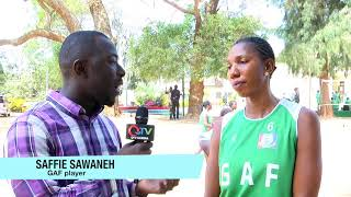 Volleyball report on Gambia Armed Forces and Interior teams