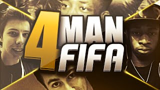 4 MAN FIFA with FIFAManny, Calfreezy and Miniminter!