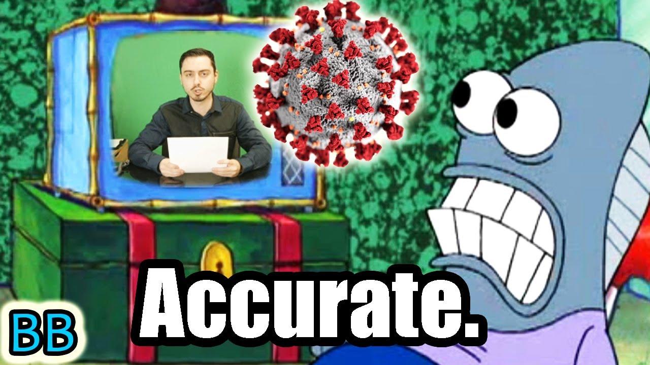 Spongebob Predicted Coronavirus