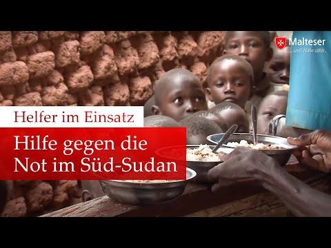 Helfer im Einsatz  Hilfe gegen die Not im SüdSudan
