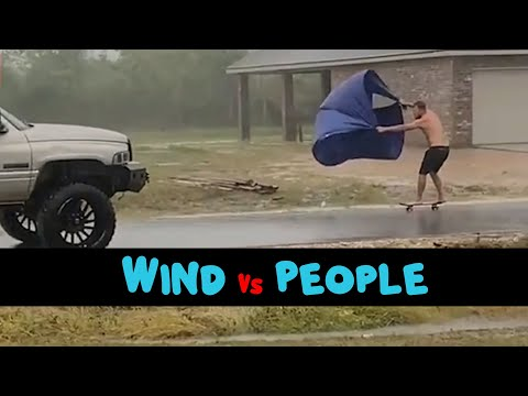 Wind Vs People | Funny Weather Fails Compilation