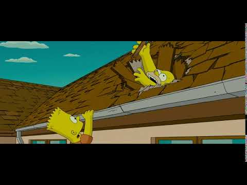 Homer Simpson Steady Steady Steady Falls Through The Roof 230 Subscribers Youtube